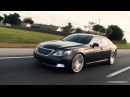 Lexus LS460 on 22 Vossen VVS-CV3 Concave Wheels / Rims