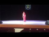 Olesya Istomina - beledi in Moscow festival