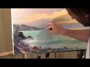 Пишем Закат на море.Уроки живописи Игоря Сахарова.