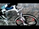 Велосипед на литых дисках BMW X6M White.