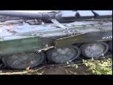 Украина  Новости  Сегодня 30 10 14  Подбитый Русский танк