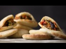 Pita Bread with Vegetable Salad Bread Butter GastroLab