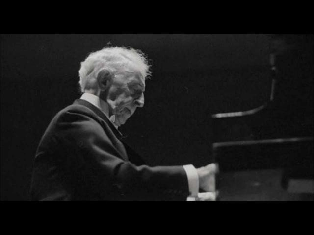 Bach, Busoni Chaconne in D minor BWV 1004 Arthur Rubinstein