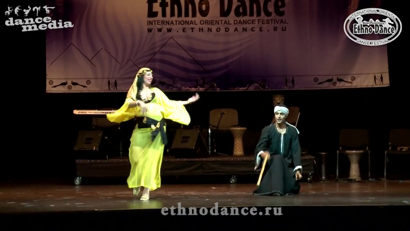 23-08-2015 EthnoDance 2015 Гала-концерт Doaa Sallam Mohamed Sallam (Egypt)