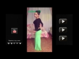 Узбечка танцует танец живота всем смотрет! Uzbek qizlari arabic dance - YouTube_0_1441065101338
