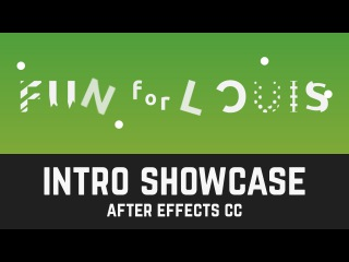S001 Fun for Louis Intro Speed Art in After Effects CC