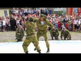 Видеоролик День десантника 2012 показательные выступления