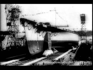 RAF bombers sink the German battleship Tirpitz! 1944