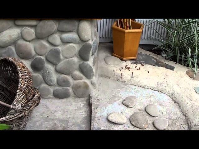 Облицовка природным камнем своими руками