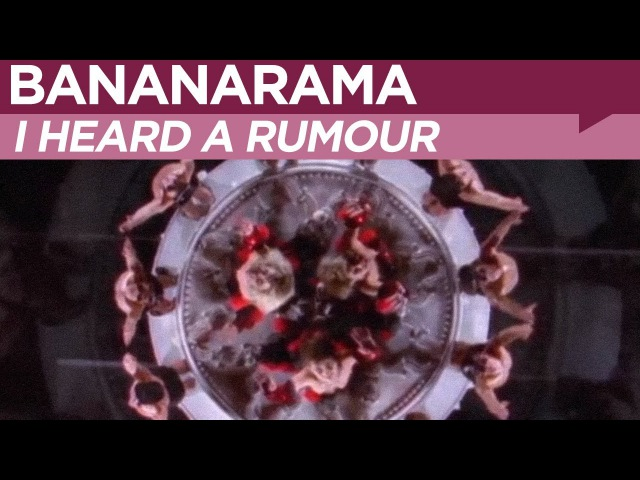 Bananarama - I Heard A Rumour (1987, OFFICIAL MUSIC VIDEO)