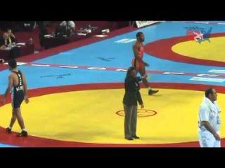 2011 Worlds Freestyle 74kg Semis - Jordan Burroughs (USA) vs. Ashraf Aliyev (AZE)
