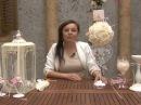 Мастер-класс Свадебный букет-шар для украшения стола