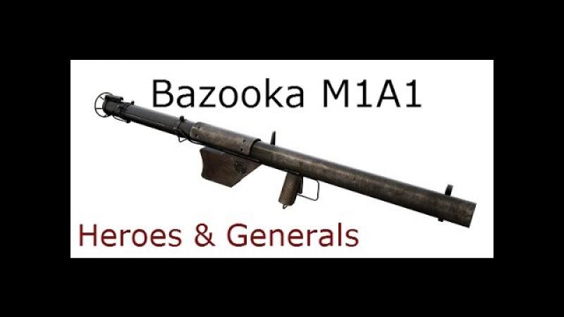 Heroes Generals игра. Обзор на Базука М1. Охотник на танки!