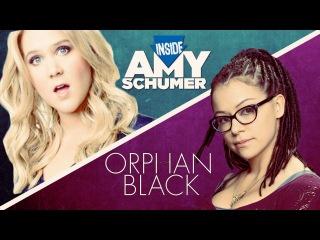 Amy Schumer meets Orphan Black's clones