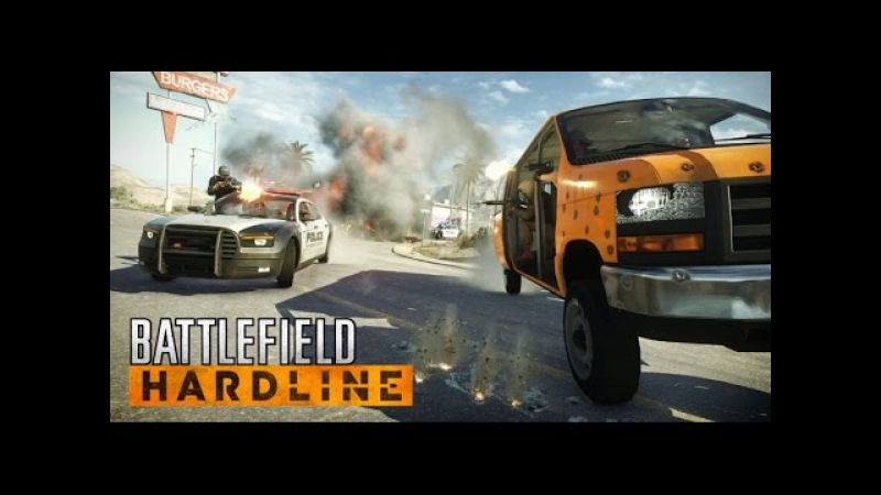 Battlefield Hardline Cops and Robbers Action Full HD 2560 x 1440p