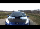 Extreme Toyota celica 1.8 vvti tuning show car music video 2013