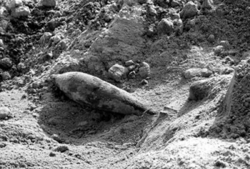 В Армянске найдена мина времен ВОВ