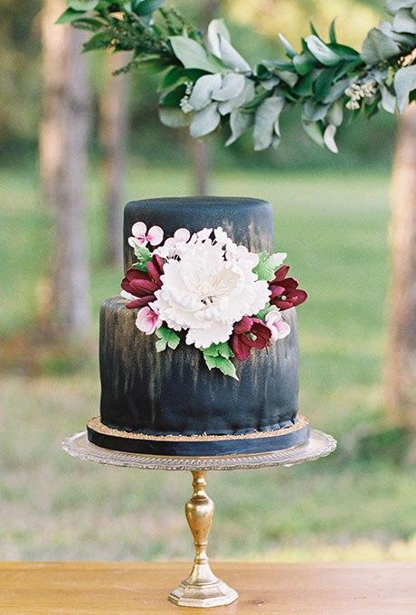 4ifFA5AXDpE - Темный свадебный торт (20 фото)