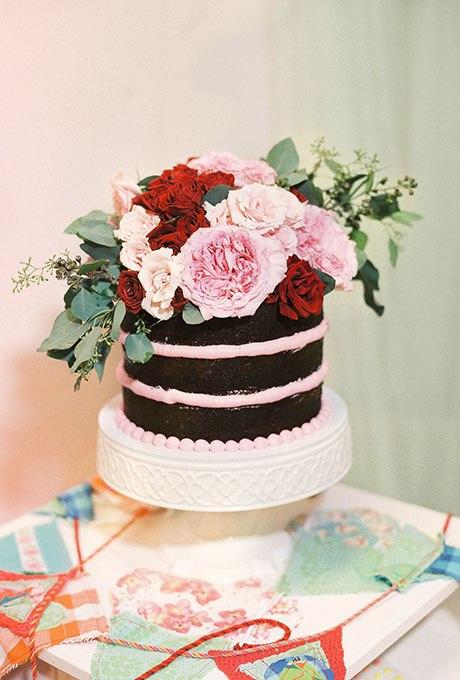 7bf2K7kxEsY - Темный свадебный торт (20 фото)