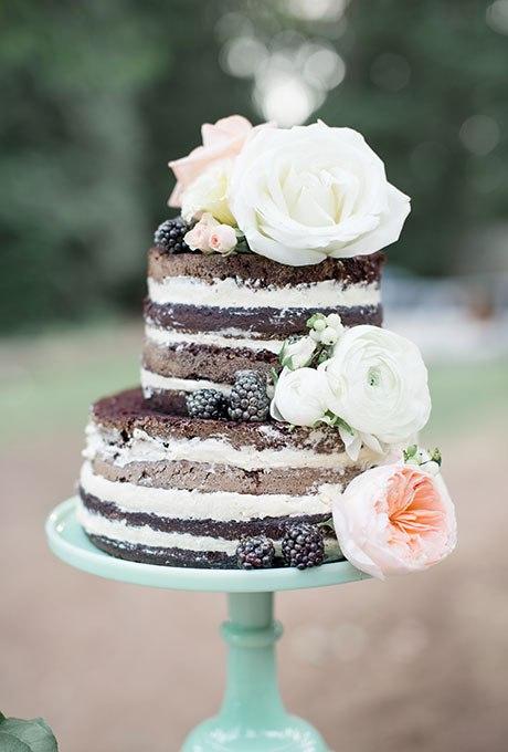 Tax4qv6SB8o - Темный свадебный торт (20 фото)