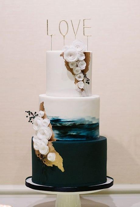 zHH878IFgoQ - Темный свадебный торт (20 фото)