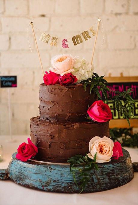 PMRQLLXvk5c - Темный свадебный торт (20 фото)