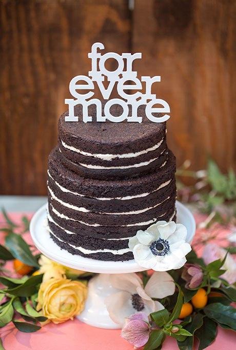 wktNBzMJKiA - Темный свадебный торт (20 фото)