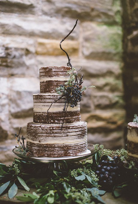 v3yDNGkfZhU - Темный свадебный торт (20 фото)