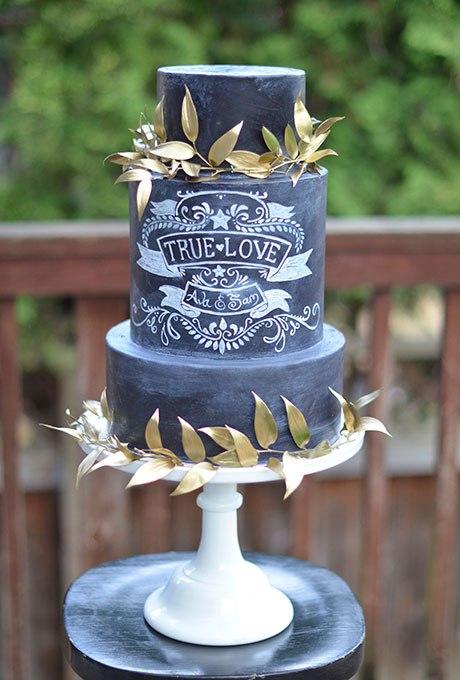 Темный свадебный торт (20 фото). Ведущий на свадьбу Волгоград. Заказать проведение торжества по тел: +7(937)-727-25-75  и  +7(937)-555-20-20