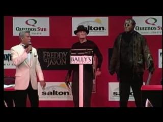 Фредди Крюгер и Джейсон на прессконференции (приколы)