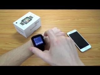Копия Apple Watch умные часы, китайские Iwatch. Видео обзор, купить