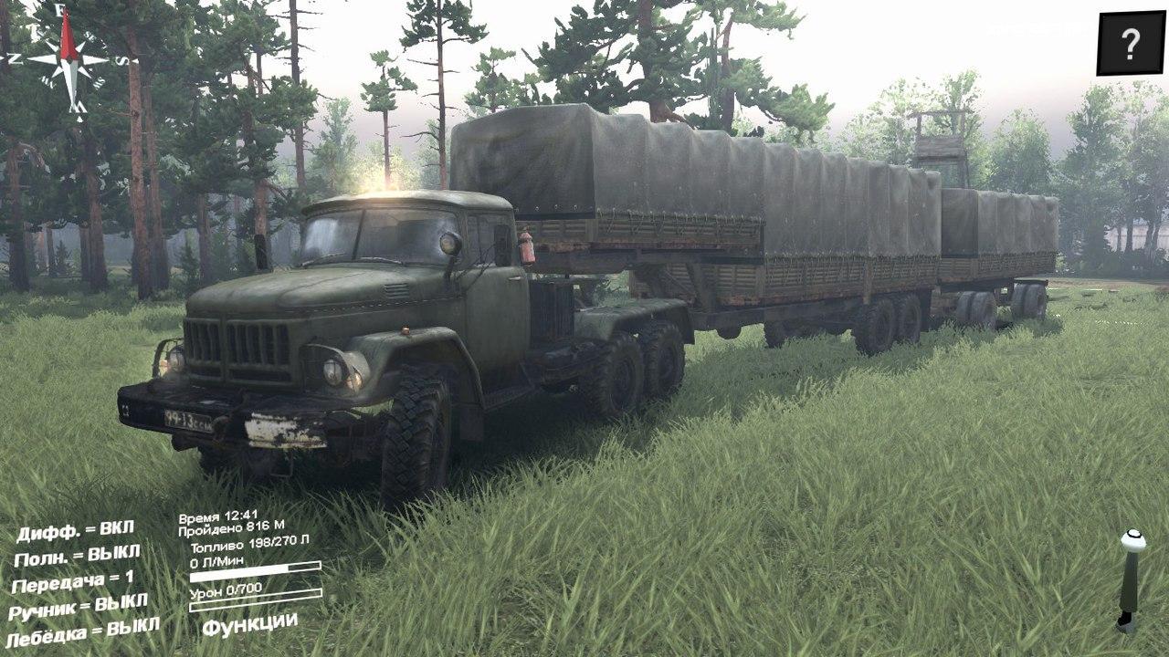 ЗиЛ-137 для Spintires - Скриншот 3