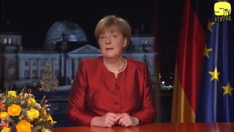 Skitekk Angela Ferkel verkündet den 3ten Weltkrieg