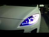 Mazda 3 By Xenon Custom светодиодные вставки