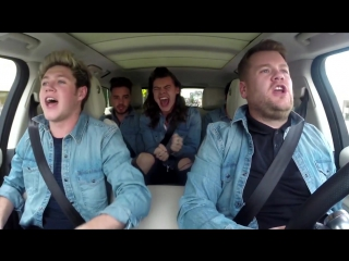 One Direction Carpool Karaoke No Control
