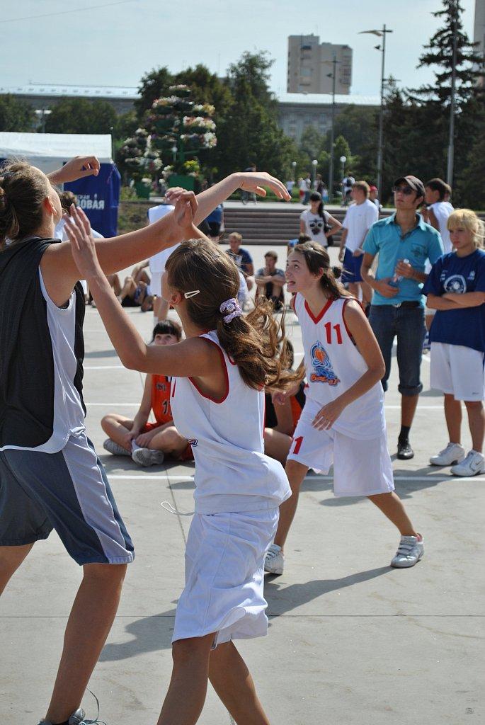 Уличный баскетбол 3Х3.29 августа ЧАСТЬ 2