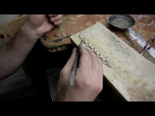 Как сделать цепочку плетения Картье How to make a chain Cartier