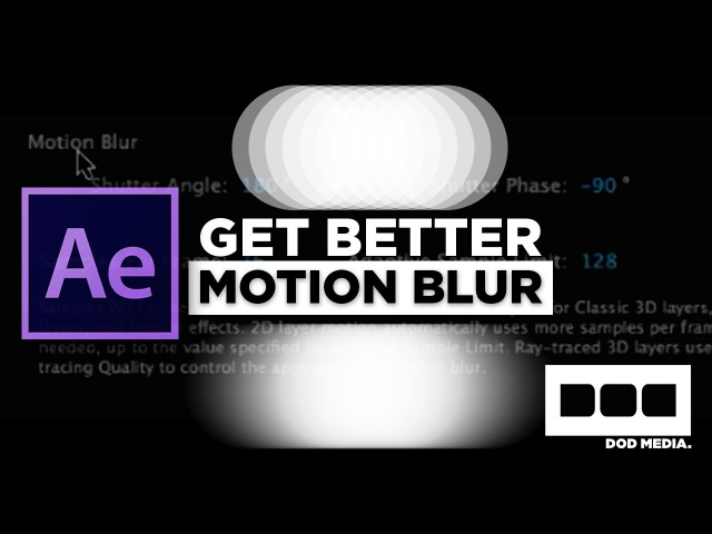 Get Better Motion Blur in After Effects