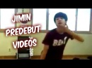 BTS Jimin Predebut Videos