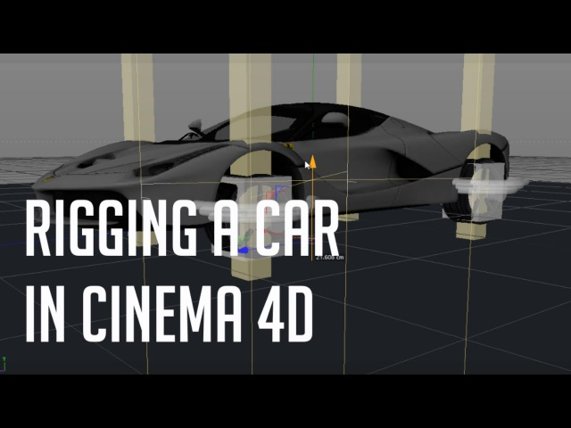 Car rigging tutorial Cinema 4D