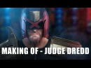 Making of - 3D Judge Dredd in Blender, Zbrush, Substance Painter and Photoshop