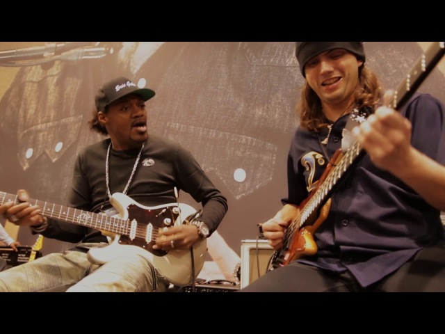 NAMM 2017 Eric Gales Cody Wright Live At The Dunlop Booth