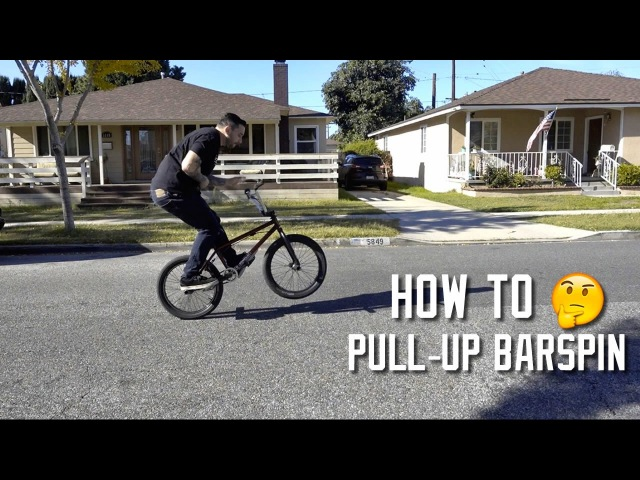 HOW TO PULL UP BARSPIN
