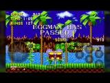 Gameplay хака Eggman in Sonic 1