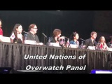 Overwatch Voice Actors in real life voicing their own characters (Compilation 2 - BLIZZCON EDITION)