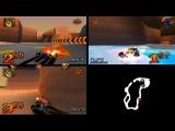 Crash Team Racing online Dingo Canyon 3 Players 22.02.2017 year