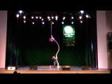 Пыресина Виолетта - Воздушная гимнастка на кор – де – пареле «Танго»