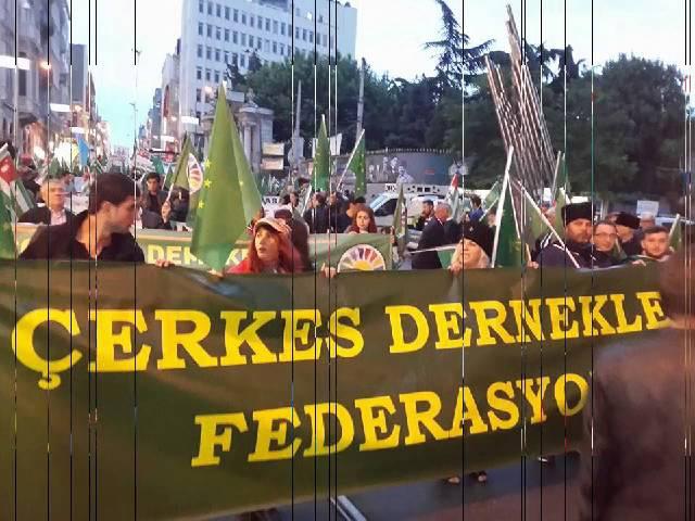 21 Mayıs Çerkes Sürgünü ve Soykırımı Anma Etkinlikleri - Çerkes TV
