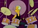 Simpsons, Симпсоны соло на барабанах