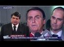Datena conversa com Jair Bolsonaro sobre a crise política.